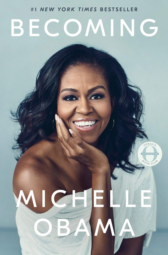 (Book Cover) Becoming by Michelle Obama