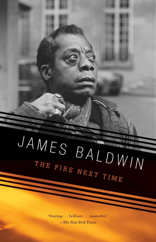 (Book Cover) The Fire Next Time by James Baldwin