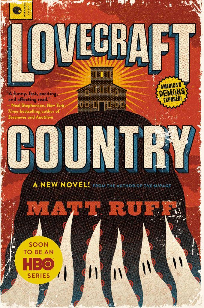 (Book Cover) Lovecraft country by Matt Ruff