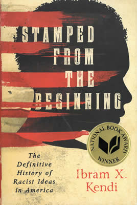 (Book Cover) Stamped from the Beginning by Ibram X. Kendi
