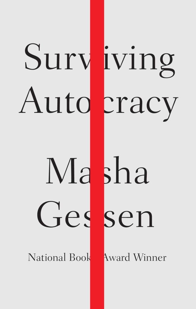 (Book Cover) Surviving Autocracy by Masha Gessen