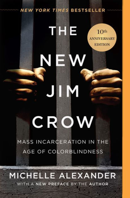 (Book Cover) The New Jim Crow by Michelle Alexander